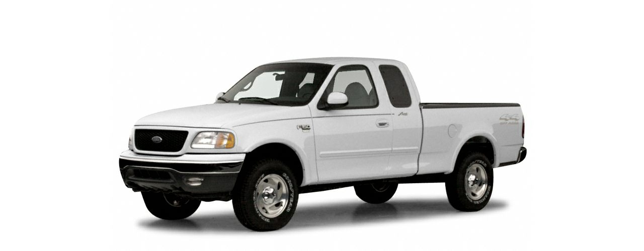 2000 Ford F-150 Lariat 4x4 Super Cab Styleside 138.8 in. WB Pictures