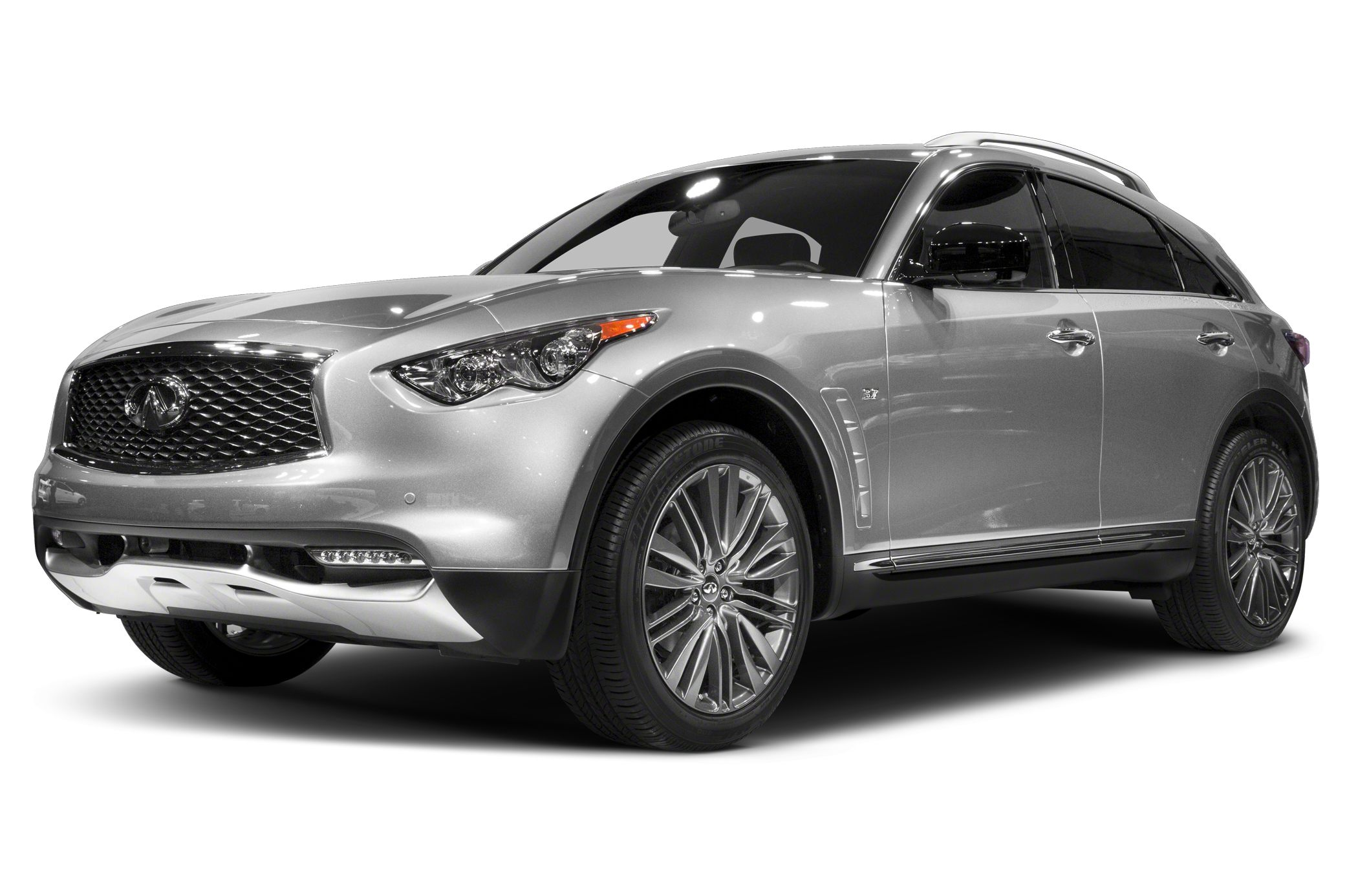 infiniti qx70 s design goes dark in the city of light autoblog. Black Bedroom Furniture Sets. Home Design Ideas