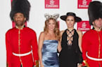 Millie Mackintosh Wears Bunny Ears At Melbourne Cup
