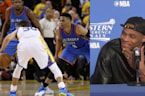 Stephen Curry & Russell Westbrook Battle In Game 5, Russ Throws Shade In Postgame Conference