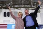 Hillary Clinton Picks US Sen. Tim Kaine as Her Running Mate