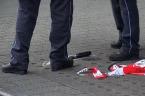 Raw: Man Kills Woman with a Machete in Germany