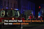 Syrian Suicide Bomber Injures 12 Outside German Music Festival