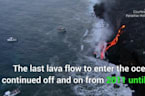 Lava From Kilauea Volcano Reaches Ocean For First Time Since 2013