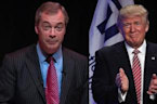 Nigel Farage Imports Brexit Values to Trump Rally