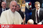 Mark Zuckerberg Meets With Pope Francis in Italy