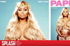 Blac Chyna is Naked and Pregnant on Paper Cover