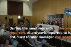 England Manager Sam Allardyce Caught In Newspaper Sting