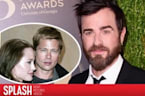 Justin Theroux Talks About Brad Pitt and Angelina Jolie's Divorce