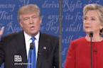 Trump Says in next Debate with Clinton He May 'Hit Her Harder'