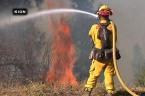 Raw: California Fire Threatens 300 Buildings