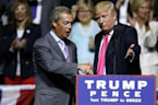 Donald Trump Taps UKIP Leader Nigel Farage for Debate Prep