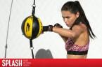 Adriana Lima Boxes to Model Victoria's Secret Athleisure