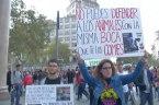 Raw: Spaniards Protest Bullfighting Decision