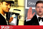 Justin Timberlake Breaks the Law at Polling Station