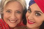 Katy Perry Celebrates Birthday with Bacon & Hillary Clinton