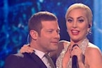 Lady Gaga Impersonator Performs On X-Factor
