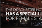The Dorchester Has A Very Special List Just For Female Staff