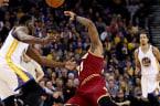 Draymond Green and Warriors Fans Troll LeBron James After Ridiculous Sniper Fire Flop