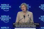 Theresa May Warns Big Business To Play By Rules As She Promotes Britain At Davos 2017