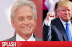 Michael Douglas Knows Donald Trump Very Well, Says He's Not 'an Idiot'