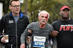 Two 'Angels' Help 73-Year-Old Finish Half-Marathon After A Fall
