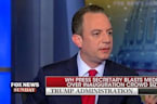 Reince Priebus Accuses The Media Of Trying To 'Delegitimize' Trump's Presidency