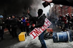 Anti-Trump Protesters Who Were Violent Face Rioting Charges