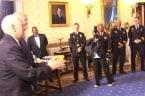 Trump Honors Law Enforcement, First Responders