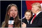Chelsea Clinton Defends Barron Trump in Tweet