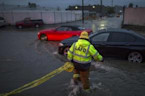'Weather Bomb' Causes Heavy Rain Southern California