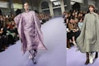 These Fashion Week 'Quilts' Are Basically Duvet Ponchos