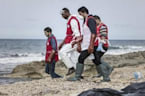 At Least 74 Bodies Wash Up on Libyan Shore