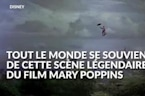 La scène de Mary Poppins volant avec son parapluie a failli finir en drame