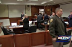 Judge orders murder suspect's mother from courtroom