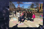 Families Replace Anti-Semitic Graffiti with Messages of Love at Long Island Park