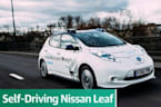 Taking Nissan's Self-Driving Leaf For A Spin