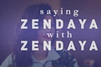 Zendaya Sets The Record Straight On Her Name