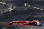 Video: Crash closes Eastern Avenue in Dundalk