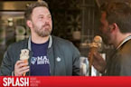 Ben Affleck Cools Off with an Ice Cream Cone