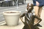 'Fearless Girl' Statue to Remain in Place Through February 2018