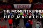 The Moment Runners Help A Woman Finish Her Marathon