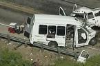 At least 12 dead in Texas church bus crash