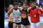 Marathon hero reflects on an iconic finish