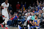 Steph Curry MOCKS Trail Blazers with 3-Point SHIMMY Dance