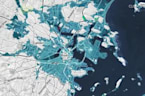 Terrifying Visualizations Show Worst Case Sea Levels By 2100