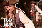 Johnny Depp: Disneyland Surprise I TMZ LIVE