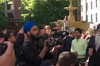 Sikhs Sing in Support for Manchester Attack Victims