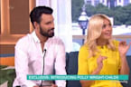 Holly Willoughby Recoils Over Amy Childs' Baby Confession