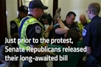 Police Drag Away Protesters In Wheelchairs From Mitch McConnell's Office